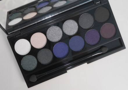 Палетка теней Sleek MakeUp Eyeshadow Palette I-Divine 12 тонов Bad Girl: фото