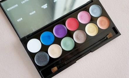 Палетка теней Sleek MakeUp Eyeshadow Palette I-Divine 12 тонов Primer: фото