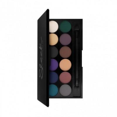 Палетка теней Sleek MakeUp Eyeshadow Palette I-Divine 12 тонов Ultra Matte V2: фото
