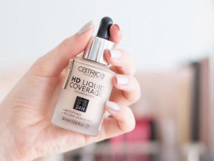 Тональная основа CATRICE HD Liquid Coverage Foundation 010 Light Beige: фото