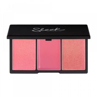 Румяна в палетке Sleek MakeUp BLUSH BY 3 Pink Lemonade: фото