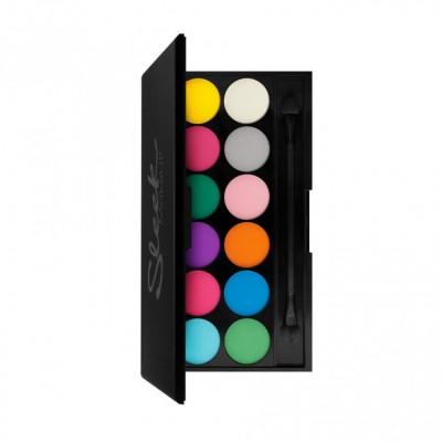 Eyeshadow Palette I-Divine 12 тонов Ultra Matte V1: фото