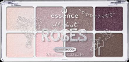 Тени для век All About Essence 03 roses: фото