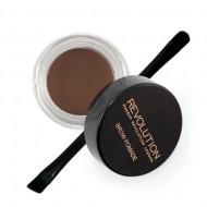 Помадка для бровей MakeUp Revolution Brow Pomade Chocolate: фото