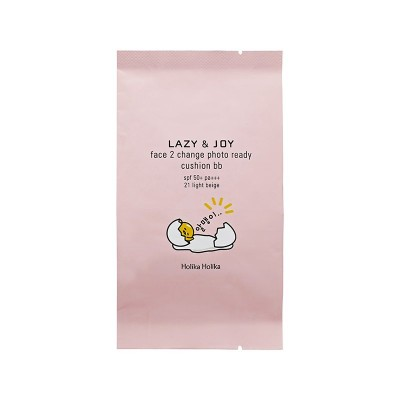 Кушон, сменный блок Holika Holika Gudetama Cushion BB Refill тон 21, светлый беж 15г: фото