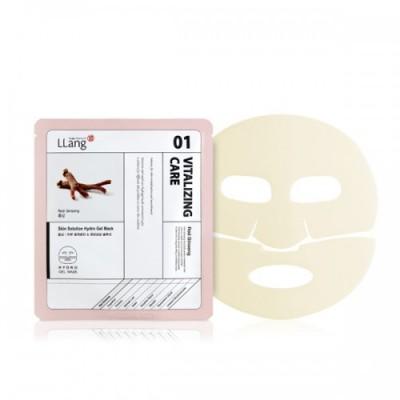 Гидрогелевая маска с экстрактом красного женьшеня Llang, 25 мл: фото