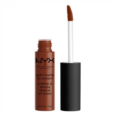 Жидкая помада NYX Professional Makeup Soft Matte Lip Cream BERLIN 23: фото