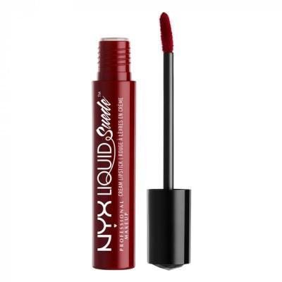 Жидкая помада NYX Professional Makeup Liquid Suede Cream Lipstick - CHERRY SKIES 03: фото