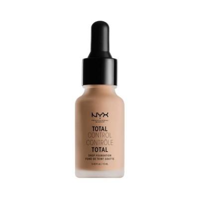 Тональная основа NYX Professional Makeup Total Control Drop Foundation - SOFT BEIGE 075: фото