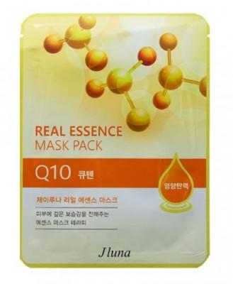 Тканевая маска с коэнзимом Q10 JUNO Real essence mask pack Q10 25 мл: фото