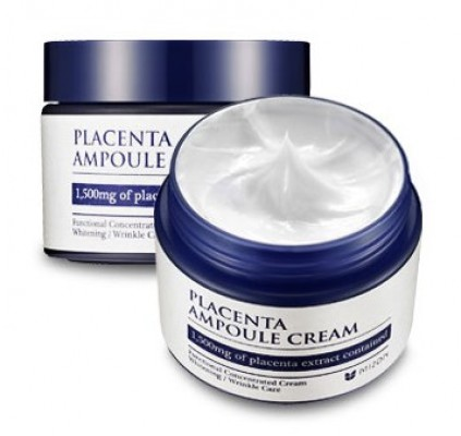 Крем плацентарный MIZON Placenta Ampoule Cream: фото