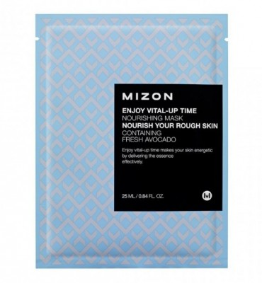 Тканевая маска питательная MIZON Enjoy Vital Up Time Nourishing Mask: фото