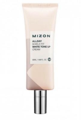 Крем отбеливающий увлажняющий MIZON Allday Shieldshit White Tone Up Cream: фото