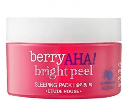Маска ночная с АНА-кислотами ETUDE HOUSE Berry AHA Bright Peel Sleeping Pack: фото