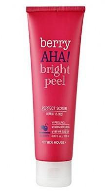 Скраб с АНА-кислотами ETUDE HOUSE Berry AHA Bright Peel Perfect Scrub 120мл: фото