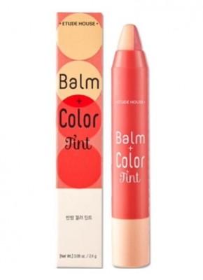 Тинт-карандаш для губ двойной ETUDE HOUSE Balm+Color Tint #01: фото