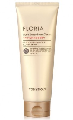 Пена для умывания TONY MOLY Floria nutra energy foam cleanser 150 мл: фото