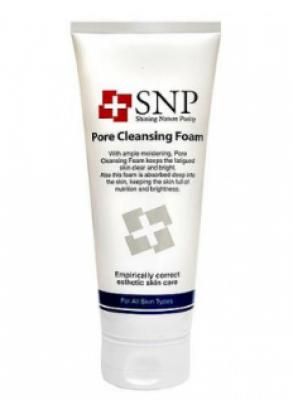 Пена для умывания SNP Pore cleansing foam 150 мл: фото