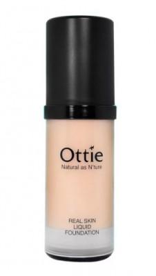 Тональная основа под макияж OTTIE Real Skin Liquid Foundation Ecuador №01 30мл: фото