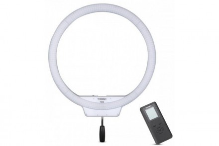 Кольцевой светодиодный осветитель Yongnuo YN-608 LED 3200-5500K: фото