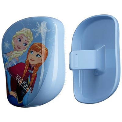 Расческа TANGLE TEEZER Compact Styler Disney Frozen голубой: фото