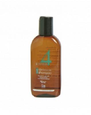 Шампунь терапевтический №1 для нормальных и склонных к жирности волос SIM SENSITIVE System4 100 мл: фото