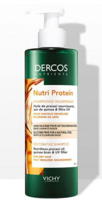 Шампунь Восстанавливающий VICHY DERCOS NUTRIENTS Nutri Protein 250мл: фото