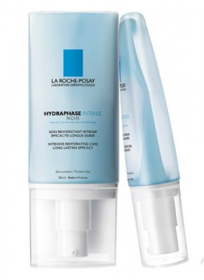 Крем для сухой чувствительной кожи La Roche-Posay Hydraphase INTENSE RICHE 50мл: фото