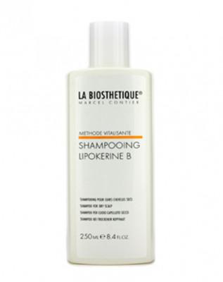 Шампунь для сухой кожи головы La Biosthetique Vitalisante Lipokerine B Shampoo For Dry Scalp 250мл: фото