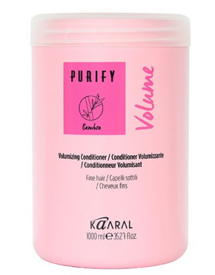 Кондиционер для тонких волос Kaaral Purify-Volume Conditioner 1000мл: фото