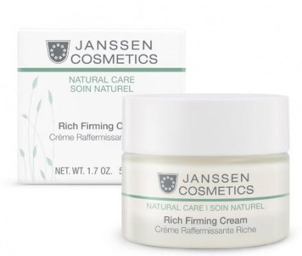Крем-лифтинг обогащенный увлажняющий Janssen Cosmetics Organics Rich Firming Cream 50 мл: фото