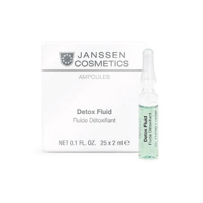 Сыворотка-детокс в ампулах Janssen Cosmetics Detox Fluid 3*2 мл: фото