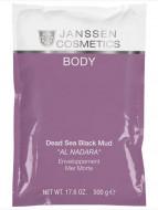 Грязь Мертвого моря оригинальная Janssen Cosmetics Dead Sea Black Mud Al Nadara 500г: фото