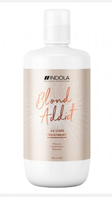 Маска для окрашенных и обесцвеченных волос Indola Blond Addict Masque #2 Care Treatment 750мл: фото