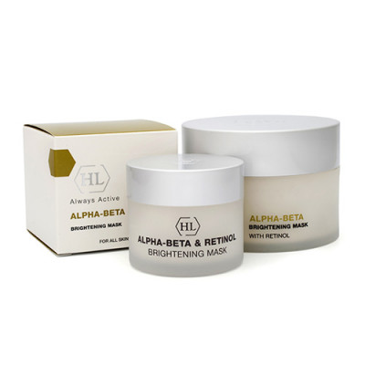 Маска осветляющая Holy Land Alpha-Beta & Retinol Brightening Mask 50 мл: фото