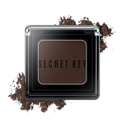 Тени для век моно SECRET KEY Fitting Forever Single Shadow #Night Deep Brown 3,8г: фото