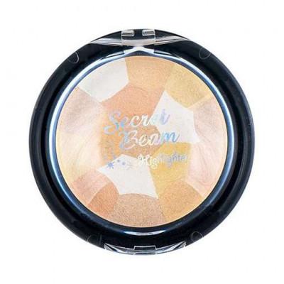 Хайлайтер для лица ETUDE HOUSE Secret Beam Highlighter Gold&Beige Mix 9г: фото
