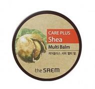 Крем-бальзам универсальный с маслом Ши THE SAEM CARE PLUS Shea Multi Balm 17г: фото