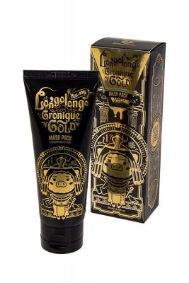 Маска-пленка золотая Elizavecca Hell Pore Longolongo Gronique Gold Mask Pack 100мл: фото