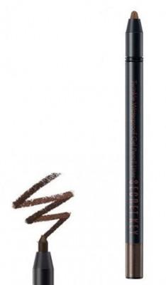 Карандаш автоматический для глаз водостойкий SECRET KEY Twinkle Waterproof Gel Pencil Liner 05 Choco Brown 0,5г: фото