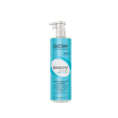 Очищающий гель д/лица и тела Ducray Keracnyl Foaming gel 400 мл: фото