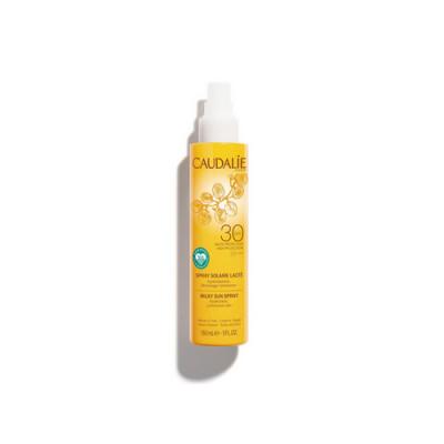 Солнцезащитное молочко-спрей для тела и лица Caudalie Teint&Soleil Divin SPF30 150мл: фото