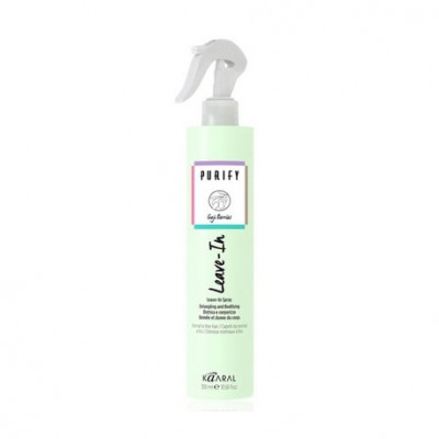 Спрей распутывающий и увлажняющий для нормальных и тонких волос Kaaral PURIFY LEAVE-IN SPRAY 300мл: фото