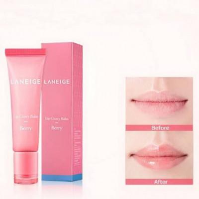 Оттеночный блеск-бальзам для губ Ягода LANEIGE Lip Glowy Balm Berry: фото