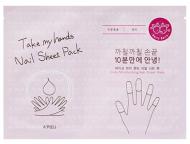Маска для ногтей A'PIEU Take My Hand Nail Sheet Pack Berry: фото