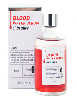 Сыворотка для лица REALSKIN Blood Water Serum 100мл: фото