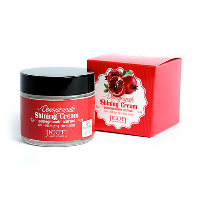 Крем с экстрактом граната для яркости кожи JIGOTT Pomegranate Shining Cream: фото