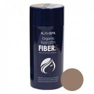 Кератиновые волокна H.АirSPA Hair Building Fibers светло-коричневые 28г: фото