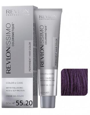 Краска перманентная Revlon Professional Revlonissimo Colorsmetique 55.20 Светло-Коричневый Бургундский 60мл: фото