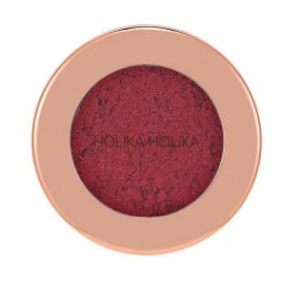 Тени-фольга для век Holika Holika Foil Shock Shadow 04 Burned Cherry, темно-вишневый 1,9 г: фото